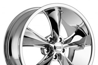 "FOOSE® - LEGEND Chrome (20"" x 8.5"", +7 Offset, 5x114.3 Bolt Pattern, 72.6mm Hub)"