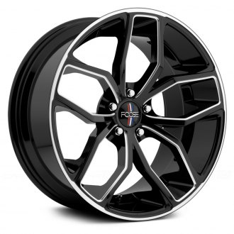 FOOSE® - OUTCAST Gloss Black with Milled Accents