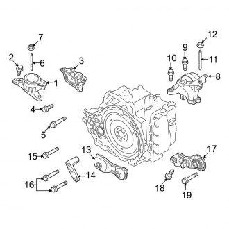 2011 ford taurus engine diagram 2011 ford taurus replacement motor mounts     carid com  2011 ford taurus replacement motor