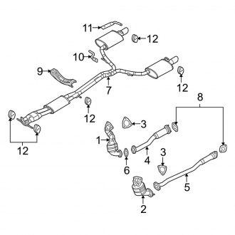 2011 ford taurus engine diagram 2019 ford taurus replacement catalytic converters     carid com  2019 ford taurus replacement catalytic