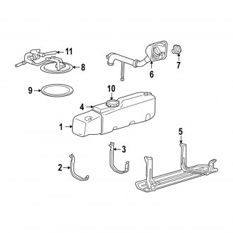2001 Ford Ranger Replacement Fuel System Parts - CARiD.com