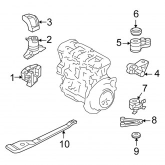 ford escape 3 0 engine diagram 2006 ford escape replacement motor mounts     carid com  2006 ford escape replacement motor
