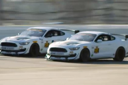 Ford Performance® Ford Mustang GT4 Customer Program Running for Daytona (Full HD)