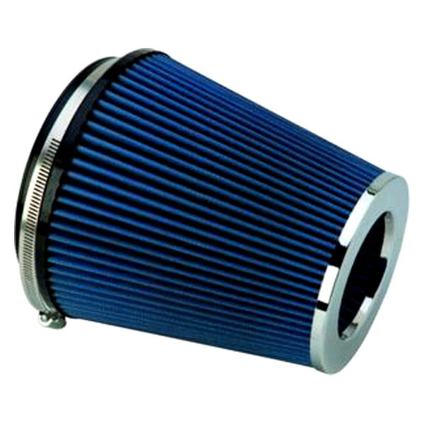 ford performance m 9601 c   round tapered blue air filter
