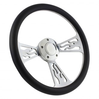 Forever Sharp® - Flame Steering Wheel
