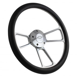 Forever Sharp® - 3-Spoke Muscle Steering Wheel with Half Wrap