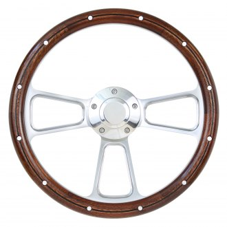 Forever Sharp® - Muscle Wood Steering Wheel with Rivets