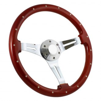 Forever Sharp® - Classic Steering Wheel with Billet Horn and Rivets