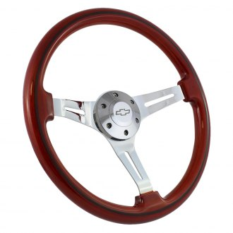 Forever Sharp® - 3-Spoke Classic Sport Wood Steering Wheel