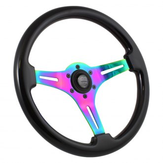 Forever Sharp® - 3-Spoke Classic Neochrome Steering Wheel