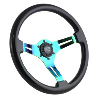 Forever Sharp® - Classic Steering Wheel with Neochrome Spokes