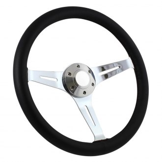 Forever Sharp® - Empire Steering Wheel with Leather Grip
