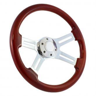 Forever Sharp® - Dual Classic Steering Wheel with Billet Horn