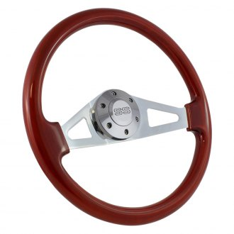 Forever Sharp® - 2-Spoke Aviator Wood Steering Wheel
