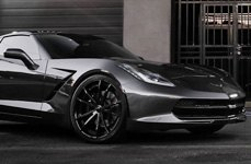 FORGIATO® - F2.01 Custom Painted on Chevy Corvette Stingray