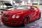 FORGIATO® - ANDATA Custom Painted on Bentley Continental