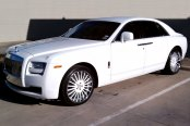 FORGIATO® - ANDATA Custom Painted on Rolls Royce Ghost