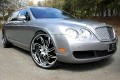 FORGIATO® - AZIONI Custom Painted on Bentley Continental