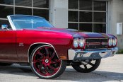 FORGIATO® - AZIONI Custom Painted on Chevy Chevelle