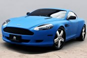 FORGIATO® - BARRA Custom Painted on Aston Martin DB