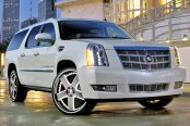 FORGIATO® - BARRA Custom Painted on Cadillac Escalade