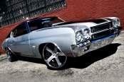 FORGIATO® - BARRA Custom Painted on Chevy Chevelle