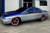 FORGIATO® - BASAMENTO Custom Painted on Chevy Caprice