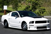 FORGIATO® - CAPOLAVARO Custom Painted on Ford Mustang