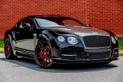 FORGIATO® - DIECI Custom Painted on Bentley Continental GT