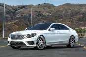 FORGIATO® - DIECI Custom Painted on Mercedes S63