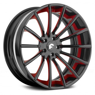 FORGIATO� - F2.15 Gloss Black with Red Trim