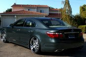 FORGIATO® - FIA Custom Painted on Lexus LS