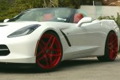 FORGIATO® - DIECI Extreme Concave Center Forging Wheels on Chevy Corvette