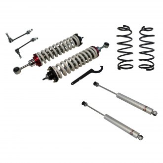 "Freedom Off-Road® - 3"" Front and Rear 2.5""-5"" Lift Coilover Kit"