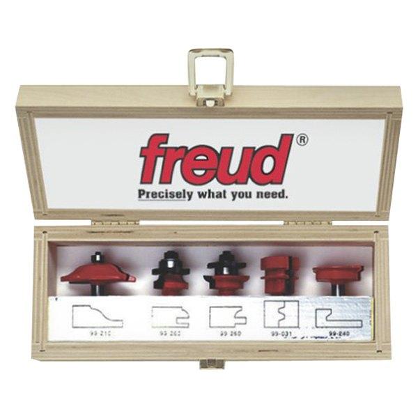 Freud 95 200 5 Pieces Advanced Cabinet Door Router Bit Set