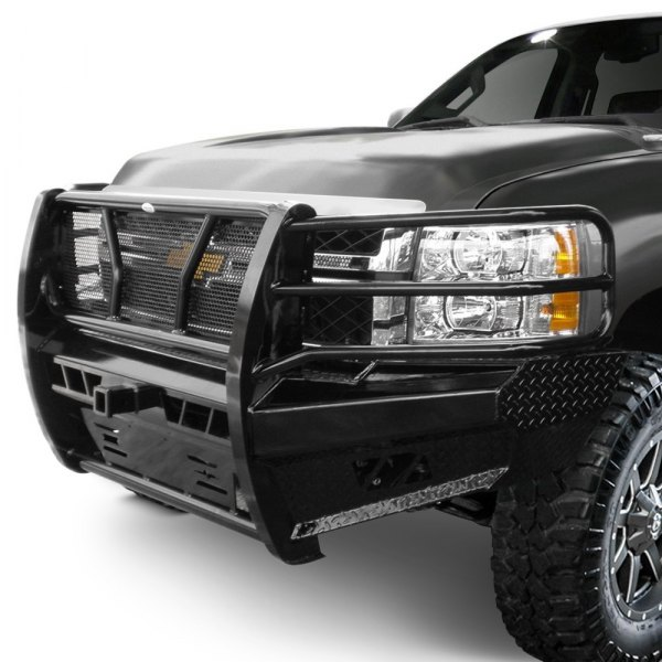 Truck Grill Guards And Bumpers : Frontier truck gear pro series full width front hd