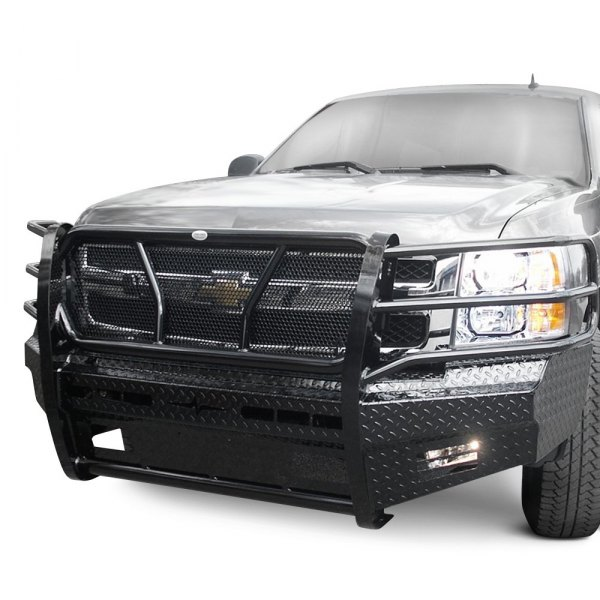 Truck Grill Guards And Bumpers : Frontier truck gear chevy silverado full width