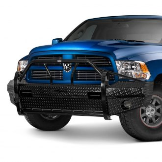 Frontier Truck Gear® - Xtreme Series Full Width Front HD Bumper with Pre-Runner Guard