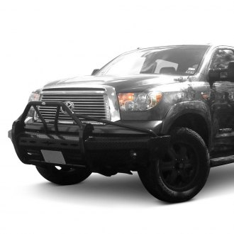 Frontier Truck Gear® - Xtreme Series Full Width Black Front HD Bumper with Pre-Runner Guard
