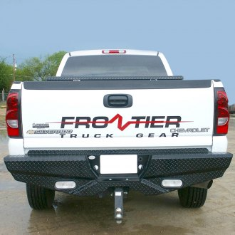 Frontier Truck Gear® - Diamond Series Full Width Rear HD Bumper