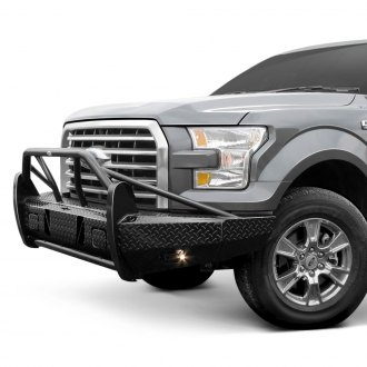 Frontier Truck Gear® - Xtreme Series Full Width Black Front HD Bumper