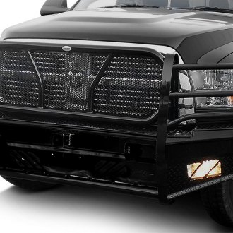 Frontier Truck Gear® - Pro Series Full Width Front HD Bumper with Grille Guard