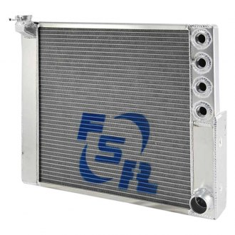 FSR Racing® - Double Pass 1 Row Radiator