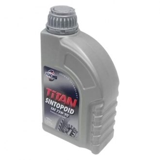 Fuchs® - Titan Sintopoid™ 1 L SAE 75W-90 Synthetic Differential Fluid