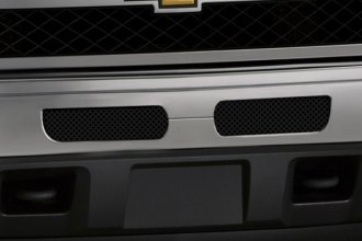Image may not reflect your exact vehicle! FUEL® - 2-Pc Black Mesh Bumper Grille