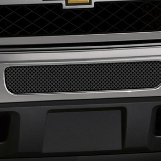 Image may not reflect your exact vehicle! FUEL® - Studded Black Mesh Bumper Grille