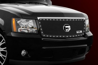 FUEL® - 1-Pc Studded Black Mesh Grille