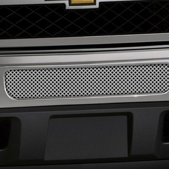 Image may not reflect your exact vehicle! FUEL® - Studded Polished Mesh Bumper Grille