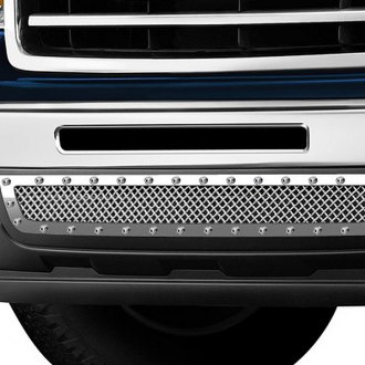 Image may not reflect your exact vehicle! FUEL® - Polished Mesh Bumper Grille