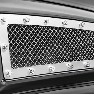 Image may not reflect your exact vehicle! FUEL® - Studded Polished Side Vent Grille